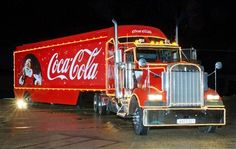 'Holidays are Coming' advertising campaign - Coca Cola truck