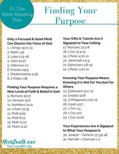 Download the 31 Day Bible Reading Plan for Finding Your Purpose today!