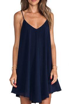 solid-color-v-neck-cami-dress