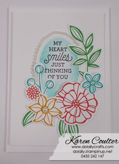 Friday Frenzy #20 – Falling Flowers and Suite Sayings – Stampin' Up! | Do Lally Crafts  #fridayfrenzy #dolallycrafts #stampinup #suitesayings #fallingflowers