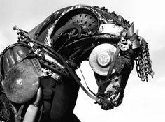 Beautiful way to reuse old car parts!