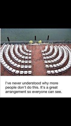 wedding seating.