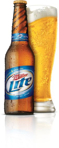 """Miller Lite - you can find it pretty much anywhere, and YES, it DOES taste better than Bud Light! Its not that I dislike Bud Light - just drink one after having a Miller Lite & you can taste the difference. The Bud does in fact have a more """"watery"""" taste."""