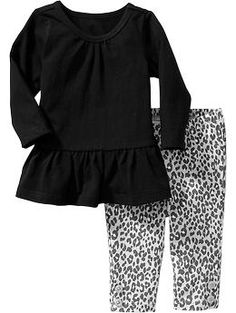 Long-Sleeved Tunic & Leggings Sets for Baby | Old Navy