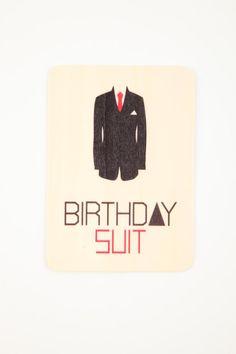 birthday suit card | Cotton On