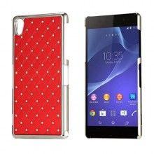 Coque Sony Xperia Z2 Diamants Rouge 5,99 €
