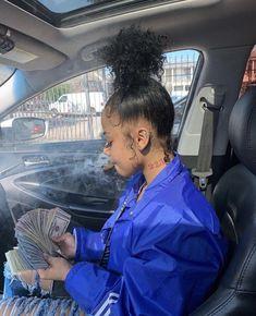 Image may contain: 2 people, people sitting Boujee Aesthetic, Bad Girl Aesthetic, Girl Smoking, Smoking Weed, Flipagram Instagram, Fille Gangsta, Thug Girl, Curly Hair Styles, Natural Hair Styles