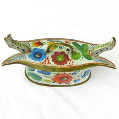 Norwegian Os Rosemaling Painted Tine, Ca. 1890 from sweetpeacottage on Ruby Lane
