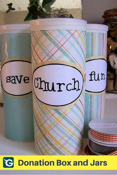 30 Donation Boxes And Jars Ideas Donation Box Fundraising Fundraising Campaign