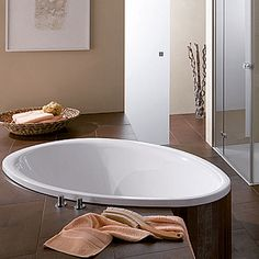 Looking to create a spa like #bathroom? Opt for our sunken round Bette #bath