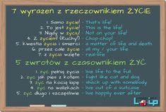 Dzisiaj 12 kolokacji: 7 z rzeczownikiem życie i 5 z czasownikiem żyć. Sprawdź, które już znasz.  - Loip Angielski i Polski Online