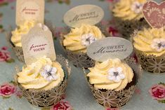 Easy Wedding Cupcakes