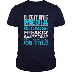 ELECTRONIC MEDIA T Shirts, Hoodies. Get it here ==► https://www.sunfrog.com/LifeStyle/ELECTRONIC-MEDIA-Navy-Blue-Guys.html?57074 $21.99