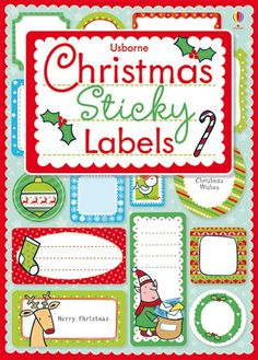 christmas stickers for presents - Google Search