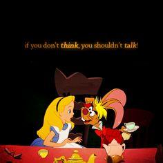 Alice in Wonderland Disney And Dreamworks, Disney Pixar, Walt Disney, Disney Characters, Disneyland, Alice Madness, Were All Mad Here, Adventures In Wonderland, Disney Quotes
