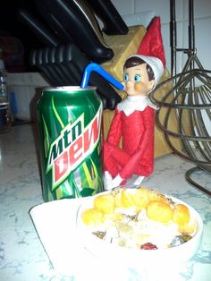 Day 19 - The munchies have set in after late night elf shenanigans.