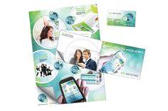 NFC Netstore / MONIVERSO-yhteistyö: esite, juliste ja käyntikortti