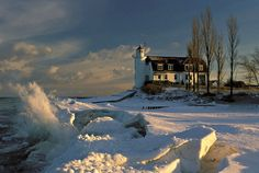 Point Betsie is a lovely place to walk, think share with that special someone as the wave crash against the shore