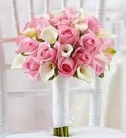 calla lily wedding bouquet petal pink - Google Search
