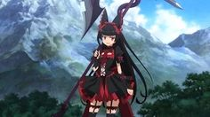 "Rory ""The Reaper"" Mercury, lolita anime, Gate: Jieitai Kanochi nite, Kaku Tatakaeri Season Girls Anime, Anime Art Girl, I Love Anime, Me Me Me Anime, Girls Characters, Anime Characters, Rory Mercury, Anime Fight, Fanart"