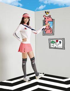 [잇아이템] 이하늬 프랑스 명품 골프웨어 아트화보 속 경쾌함 가득 #topstarnews
