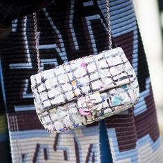 The It Bag From London Fashion Week | The Zoe Report.  Chanel Bags At London Fashion Week