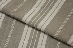 Wonderful antique French country fabric ~ ideal for upholstery , pillows etc ~ lovely gray / grey tones ~ www.textiletrunk.com