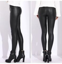 2e196ed8c2fad 63 Best faux leather pants images in 2019   Ladies fashion, Womens ...