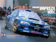 Boxart Subaru Impreza WRC 2000 Arai Toshihiro 24227 Tamiya