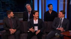 'Magic Mike XXL' Guys on Why Men Should See the Movie On Jimmy Kimmel Live: Game Night the guys from Magic Mike XXL explained why men can benefit from seeing the new movie. They also gave ample kudos to the film's extras who were more than willing to paw at them during the pivotal scenes.