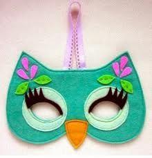 kids felt animal masks templates - Google Search
