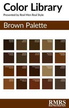 Ideas Home Design Color Palettes Brown Brown Color Names, Brown Paint Colors, Skin Color Palette, Color Palate, Color Mixing Chart, Pattern Mixing, Wie Zeichnet Man Manga, Color Shades, Brown Shades
