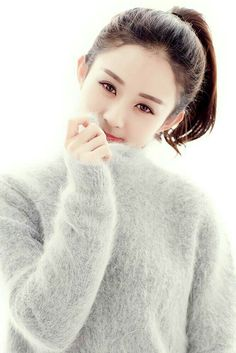 Nothing beats the sensual sexual pleasures of soft fluffy angora. Give me a gorgeous girl who craves the same and loves her man in angora. If she's very good she can invite her girl friend over as long as she is in uniform. Korean Beauty Girls, Asian Beauty, Girl Pictures, Girl Photos, Zhao Li Ying, Korean Girl Photo, Chinese Actress, Beautiful Asian Girls, Girls Image