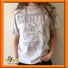 Led Zeppelin retro tee! Custom t-shirts available at #BigFrog in #Valrico. email:DesignersValrico@BigFrog.com