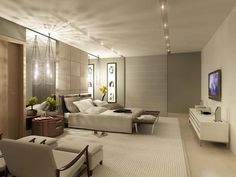 Decoracion de dormitorios modernos - Para Más Información Ingresa en: http://fotosdecasasbonitas.com/decoracion-de-dormitorios-modernos/