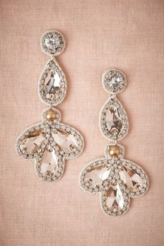 Falling Petals Earrings from BHLDN