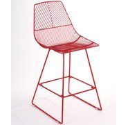 Johnny Wire Stool Red - 65cm