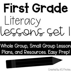 ELA lessons that are not themed and can be used any time of the year!