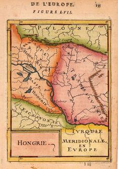 Bude, Vintage Maps, Bavaria, Hungary, Ephemera, Planer, Romania, Antique, Cartography