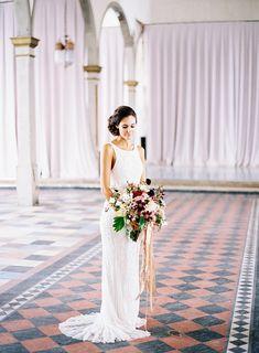 Photography: Marissa Lambert   marissalambertphotography.com Floral Design: Kim Starr Wise   kimstarrwise.com Wedding Dress: Blanc Bridal Couture   blancbridalneworleans.com   View more: http://stylemepretty.com/vault/gallery/39804