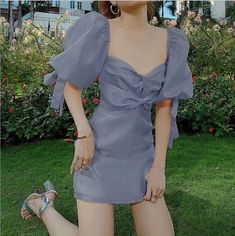 Kpop Fashion Outfits, Girly Outfits, Cute Casual Outfits, Pretty Outfits, Pretty Dresses, Stylish Outfits, Ropa Shabby Chic, Korean Outfit Street Styles, Vetements Clothing