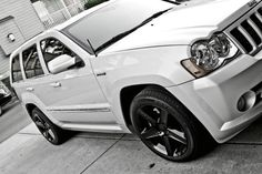 Updated pics of the whip.Org - We Are Jeep! 2005 Jeep Cherokee, Jeep Grand Cherokee Srt, Jeep Wk, Jeep Srt8, Jeep Garage, Rims And Tires, Hot Rides, Jeep Life, Cars And Motorcycles