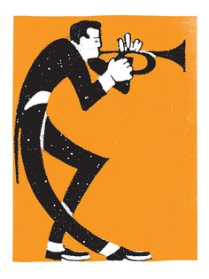 Trumpet Player Prints