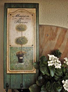 Cabideiro multi uso Maison de Fleurs | por Olha o que eu fiz...