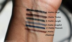 Sisley Phyto-Khol Star Matte Review Swatches
