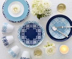 Blue B By Brandie Mix and Match Dinnerware | The Perfect Collection to any Table