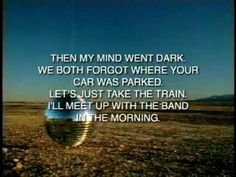 bright eyes- lover i dont have to love..  this song takes me way back