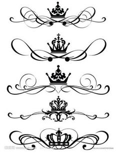 more crowns tattoos                                                                                                                                                      More