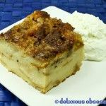 Comfort Food – Easy Bread Pudding Recipe