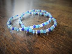 Bracelet Bord de Mer - Bracelet de plage Ado : Bracelet par charlie-creations-fr